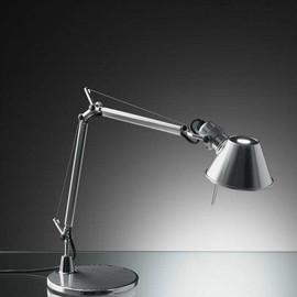 Tolomeo Micro H37 polerowane aluminium - Artemide - lampa biurkowa