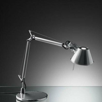 Tolomeo Micro H37 polerowane aluminium - Artemide - lampa biurkowa - A001300 - tanio - promocja - sklep