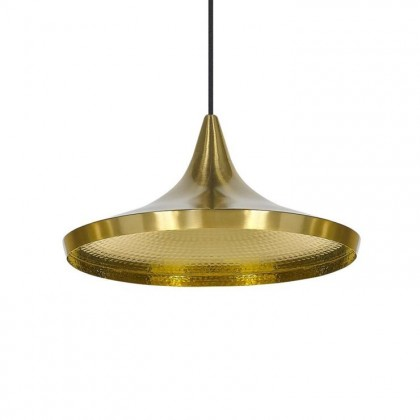 Beat Wide Ø36 mosiądz - Tom Dixon - lampa wisząca - BLS01B-PEUM2 - tanio - promocja - sklep