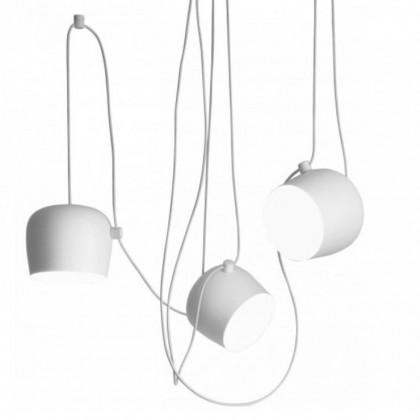 Aim Mini Ø17 biały - Flos - lampa wisząca - 3*F0095009+F0093009 - tanio - promocja - sklep