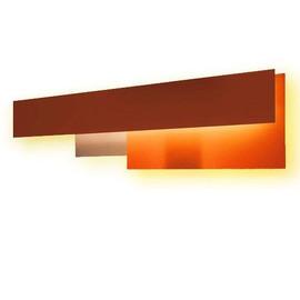 Fields 2 L125 pomarańczowy - Foscarini - lampa ścienna