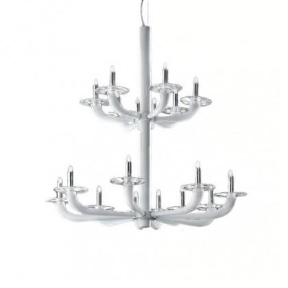 Natural Ø80 biały - De Majo - lampa sufitowa - 0NATU0K25 - tanio - promocja - sklep