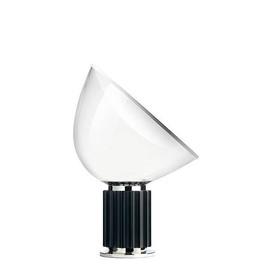 Taccia H48,5 czarny aluminium - Flos - lampa biurkowa
