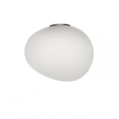 Gregg Midi H21 biały, grafit szary - Foscarini - lampa ścienna - 1680053N-10 - tanio - promocja - sklep