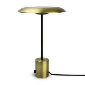 Hoshi H40 czarny, złoty - Faro - lampa biurkowa