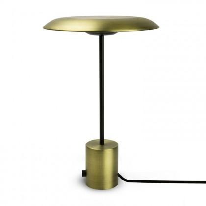 Hoshi H40 czarny, złoty - Faro - lampa biurkowa - 28387 - tanio - promocja - sklep