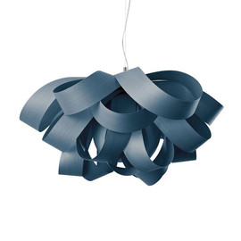 Agatha Ø76 niebieski - Luzifer LZF - lampa wisząca