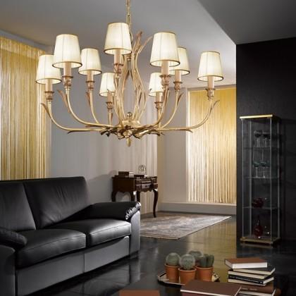 337/6+3-P - Possoni - lampa wisząca