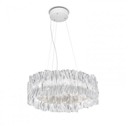 Accordeon Ø57 przezroczysty biały wnętrze - Slamp - lampa wisząca - ACR97SOS2702PW000 - tanio - promocja - sklep