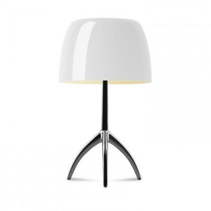 Lumiere Grande H45 słoniowa czarny chrom - Foscarini - lampa biurkowa - 026011R2 12 D - tanio - promocja - sklep