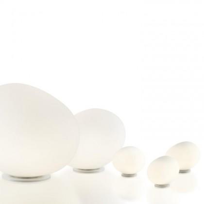 Gregg Grande H40 biały, złoty - Foscarini - lampa biurkowa - 1680011G-10 - tanio - promocja - sklep