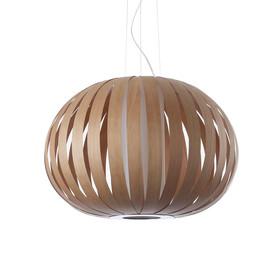 Poppy Ø63 drewno wiśniowe - Luzifer LZF - lampa wisząca