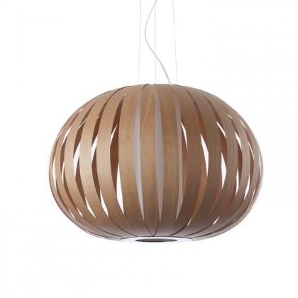 Poppy Ø63 drewno wiśniowe - Luzifer LZF - lampa wisząca - POPY SP 21 - tanio - promocja - sklep