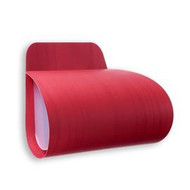 Pleg L26,5 czerwony - Luzifer LZF - lampa ścienna