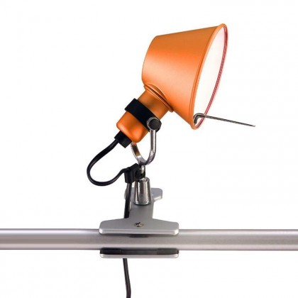 Tolomeo Micro H20 pomarańczowy - Artemide - lampa biurkowa - A010860 - tanio - promocja - sklep