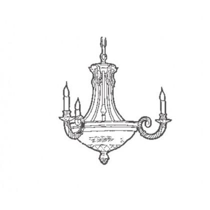 4501/3+6 - Possoni - lampa wisząca