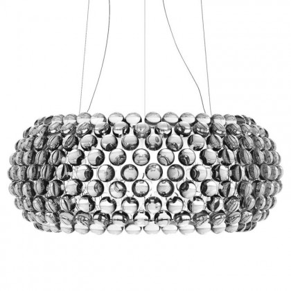 Caboche Ø70 przezroczysty - Foscarini - lampa wisząca - 138017L 16 - tanio - promocja - sklep