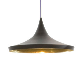 Beat Wide Ø36 czarny - Tom Dixon - lampa wisząca