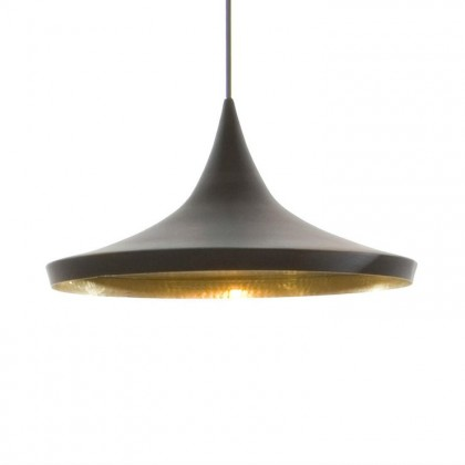 Beat Wide Ø36 czarny - Tom Dixon - lampa wisząca - BLS01-PEUM2 - tanio - promocja - sklep