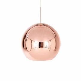 Copper Round Ø25 miedź - Tom Dixon - lampa wisząca
