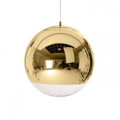 Mirror Ball Ø40 mosiądz polerowany złoty - Tom Dixon - lampa wisząca - MBB40GEU - tanio - promocja - sklep