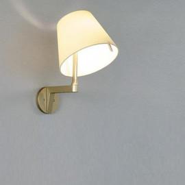 Melampo Ø23 kremowy - Artemide - lampa ścienna