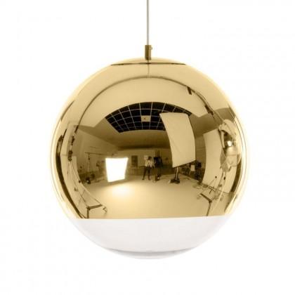 Mirror Ball Ø50 mosiądz polerowany złoty - Tom Dixon - lampa wisząca - MBB50GEU - tanio - promocja - sklep