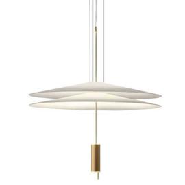 Flamingo Ø70 satyna złoty - Vibia - lampa wisząca