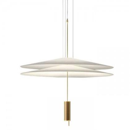 Flamingo Ø70 satyna złoty - Vibia - lampa wisząca - 1510 20 /1B - tanio - promocja - sklep