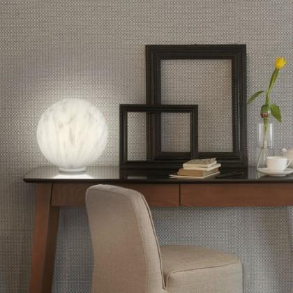 Mineral Ø30 biały - Slide - lampa biurkowa - LP SFM035 - tanio - promocja - sklep