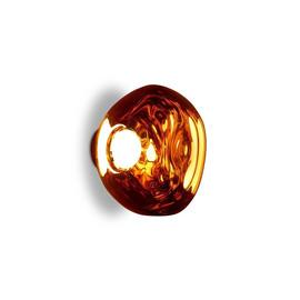 Melt Mini Surface Led Ø30 miedź - Tom Dixon - lampa sufitowa
