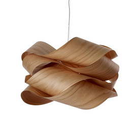 Link Ø69 drewno wiśniowe - Luzifer LZF - lampa wisząca