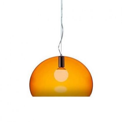 Small Fl/Y Ø38 pomarańczowy - Kartell - lampa wisząca - 9053K4 - tanio - promocja - sklep