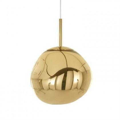 Melt Mini Led Ø28 złoty - Tom Dixon - lampa wisząca - MES04GOEU - tanio - promocja - sklep