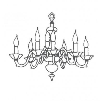 1161/8 - Possoni - lampa wisząca