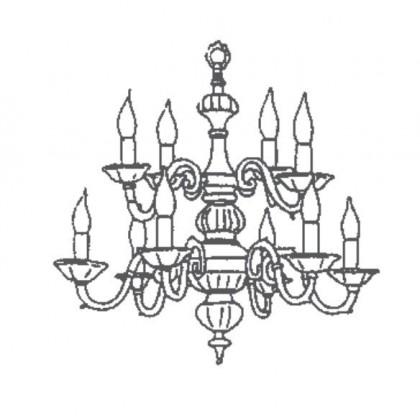 1161/8+4 - Possoni - lampa wisząca