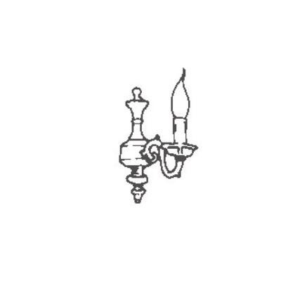 1161/A1 - Possoni - kinkiet klasyczny