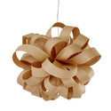 Agatha Ø80 brązowy - Luzifer LZF - lampa wisząca