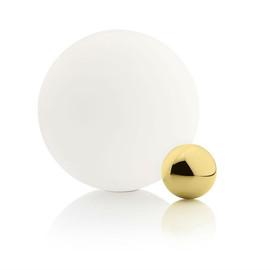 Copycat H30 złoty, biały - Flos - lampa biurkowa