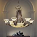 2900/6+6 - Possoni - lampa wisząca