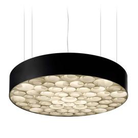 Spiro Ø96 drewno, wiśnia - Luzifer LZF - lampa wisząca