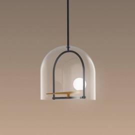 Yanzi Ø35 złoty, mosiądz - Artemide - lampa wisząca