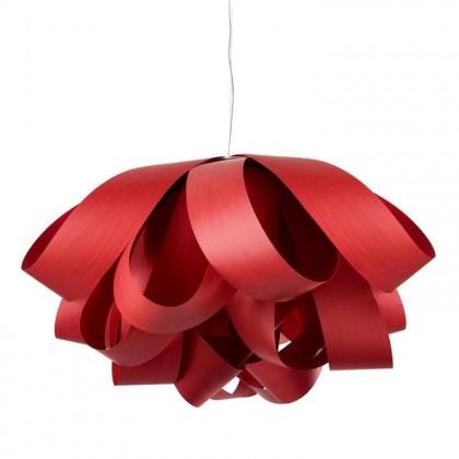 Agatha Ø140 czerwony - Luzifer LZF - lampa wisząca - ATA SG 26 - tanio - promocja - sklep
