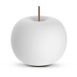 Kushi 33 Ø33 biały, miedź - Kundalini - lampa biurkowa