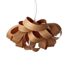 Agatha Ø76 drewno wiśniowe - Luzifer LZF - lampa wisząca