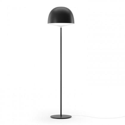 Cheshire H145 stóp, nieprzezroczysty czarny kopuła - Fontana Arte - lampa podłogowa - 4252 N - tanio - promocja - sklep