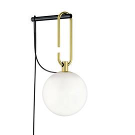 Nh W Ø15 mosiądz - Artemide - lampa ścienna