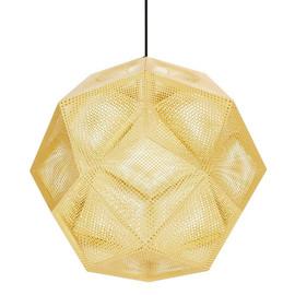 Etch Ø50 złoty mosiądz - Tom Dixon - lampa wisząca