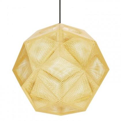 Etch Ø50 złoty mosiądz - Tom Dixon - lampa wisząca - ETS02B50EU - tanio - promocja - sklep