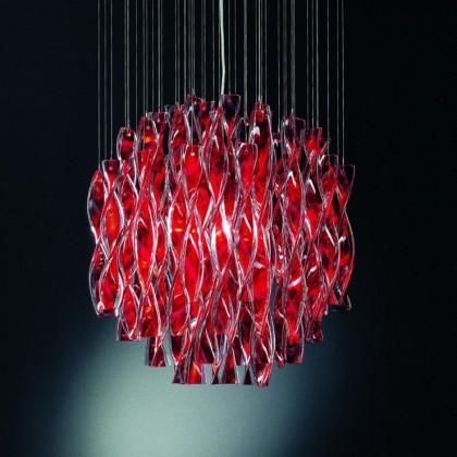 Aura Ø60 czerwony - AXO Light - lampa sufitowa - SPAURA60RSCRE27 - tanio - promocja - sklep